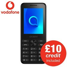 Alcatel 2003 Feature Phone inc Bluetooth Vodafone PAYG 1 SIM Card & £10 Credit