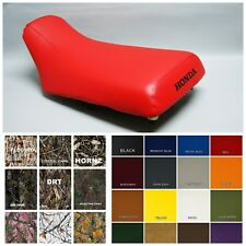 HONDA TRX300 Fourtrax Seat Cover  in RED or 25 COLORS (ST)