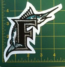 "FLORIDA MARLINS patch fish BASEBALL miami marlins PATCH 4.5""  iron or sew on"