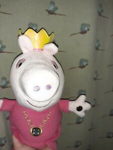 Peppa Pig Interactive Plush Soft Toy Teddy Ring A Ring Of Roses Song Working