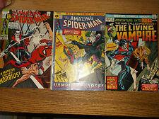 MARVEL: THE AMAZING SPIDER-MAN #101 + MORE, 1ST MORBIUS, KEY, 1970S, SHARP COPY!