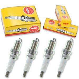 4 pcs NGK Standard Spark Plugs for 1988-1991 Honda CRX 1.6L 1.5L L4 - Engine lx