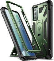 Poetic For Galaxy Note 20 Shockproof Case,Full Coverage Protective Cover Green