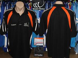Rugby League Widnes Vikings O'Neills Polo Style Shirt Maglietta Trikot Xxxl