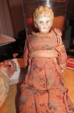 Very Old  China Head & Shoulder Doll House Doll Antique Dress & Undergarments