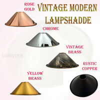 Modern Pendant Metal Ceiling Light Shades Retro Style Lounge Lighting Lampshade