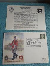 Enveloppe Premier Jour FDC The Queens regiment museum Dover castle N° 27 1987
