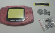 Carcasa Gameboy Advance rosa Nintendo Nuevo New GBA