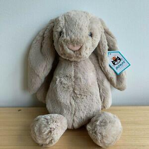 Jellycat Bashful Bunny Medium 31cm in Beige BNWT