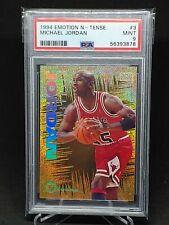 1994-95 Skybox Emotion N-Tense #3 Michael Jordan Chicago Bulls HOF PSA 9 MINT