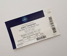 More details for justin timberlake tickets - o2 london 11/07/18 unused ticket(s) / memorabilia