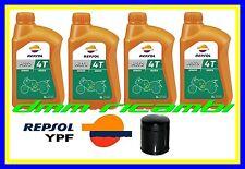 Kit Tagliando HARLEY DAVIDSON 883 1200 1340 1450 + Filtro Olio REPSOL 20W50 MA2
