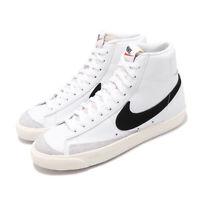 Nike Wmns Blazer Mid 77 Vintage White Black Women Classic Casual Shoe CZ1055-100