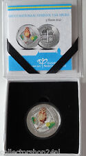 Coin / Munt Aruba 5 Florin 2012 Owl Proof in Cassette Holder Rare