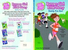 Runner Girl Ella's Story: Family Fun Run (Go! Go! Sports Girls), Douglass Thom,