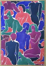 Composition Originale Atelier Lizzie Derriey Décoration Tissu Papier Peint 1970s