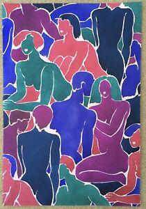 Composition Original Workshop Lizzie Derriey Decoration Fabric Wallpaper 1970s