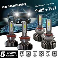 Combo LED Headlight Bulb 9005 H11 for Chevy Silverado 1500 2500 HD High Low Beam