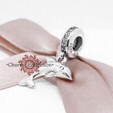 Pandora Playful Dolphin, Pendant Bracelet Charm, S925, NEW, 791541CZ