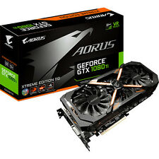 NEW Gigabyte AORUS GeForce GTX 1080 Ti Xtreme Graphics Card GV-N108TAORUS X-11GD