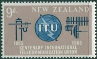 New Zealand 1965 SG828 9d ITU MNH