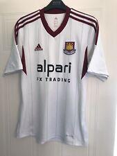 West Ham United Short Sleeved Away Shirt 2014/15 - Size Small