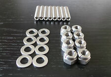 Pinto Aerotight Stainless Exhaust Manifold Studs & Nuts Escort Mk1 Mk2 Capri