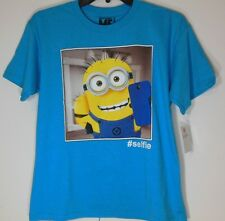 MINIONS * NEW Boys 8 * Short Sleeve T-Shirt - Graphic Tee NWT Despicable blue