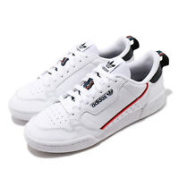 adidas Originals Continental 80 White Black Solar Red Men Classic Shoes FW5815