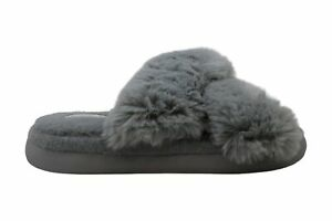 Halluci Women's Shoes 8zgxno Slippers, Grey, Size 8.5