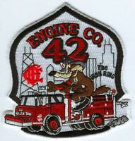 Chicago Fire Department Engine 42 Patch Illinois IL Wile E Coyote