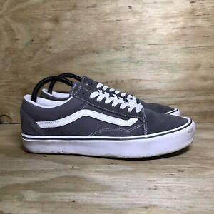 Vans Ultracush Lite Shoes, Men 9.5 / Women 11, Gray White