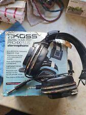 More details for koss sterophone pro/4x plus vintage headphones