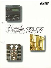 Yamaha Katalog / Prospekt CDX1050 AX TX2000 CDX2020 MX1000 CX1000 MX830 (2)