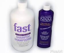 NISIM FAST (SULFATE-FREE) 1L HAIR GROWTH SHAMPOO & NISIM GROWTH EXTRACT GEL
