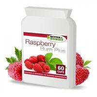 60 Raspberry Ketone Fat Burn Burners Slimming Weight Loss STRONG Diet Pills