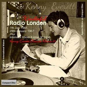 Not Pirate Radio Kenny Everett Radio London (Big L) 1965 + 1967 See description