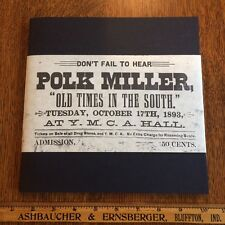 The Story of Polk Miller & The Old South Quartette