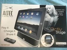ALTEC Speaker & Charging Dock for IPAD IPod Iphone Play, Charge, Share Octiv NEW