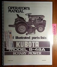 heavy equipment manuals books for kubota mower for sale ebay rh ebay com  kubota zg127s service manual