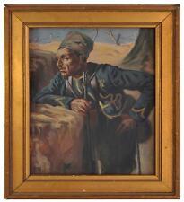 Le zouave peinture XXème par O. Nicomède