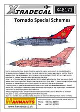 Xtra Decals 1/48 PAVAVIA TORNADO Jet Fighter SPECIAL SCHEMES