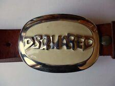 DSQUARED vecchia cintura cuoio leather belt vintage
