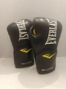 Everlast elite pro style training gloves 14 Oz size Large