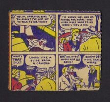 Novel Package Candy Box Card - R722-11 Adventures of Dick Tracy - Card #4
