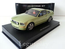Slot car SCX Scalextric AutoArt 13051 Ford Mustang GT 2005 (Legend Lime)