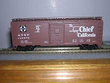 "Athearn Santa-Fe ""Super Chief"" 40' Aar Box Car #145572 Built-up B.C.Red"