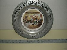 The Great American Revolution Plate: Declaration Of Independence