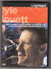 LYLE LOVETT - IN CONCERT - NEW & SEALED - R2 DVD