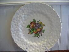 "Spode England Porcelain Alden Purple Grapes Fruit Motif 9"" Plate by J Price"